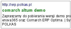 comarch altum demo